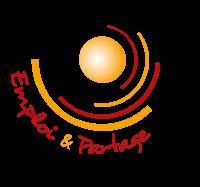 Logo emploi et partage