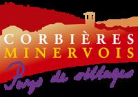 Logo pays touristique corbiere minervois
